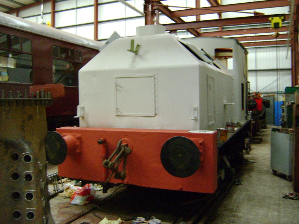 Sentinel 9373/1947 'St Monans' – Ribble Steam Railway